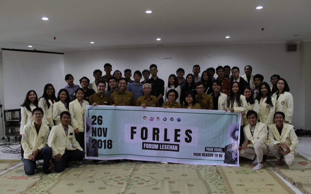 "Forum Lesehan 2018, ""Your Voice, Your Reason to Be"""
